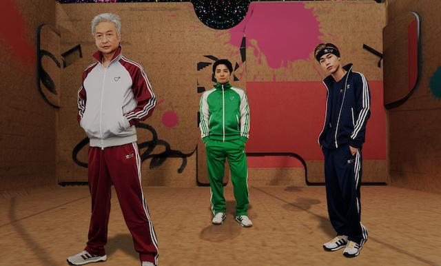 adidas Originals×HUMAN MADE再び インスタレーションも