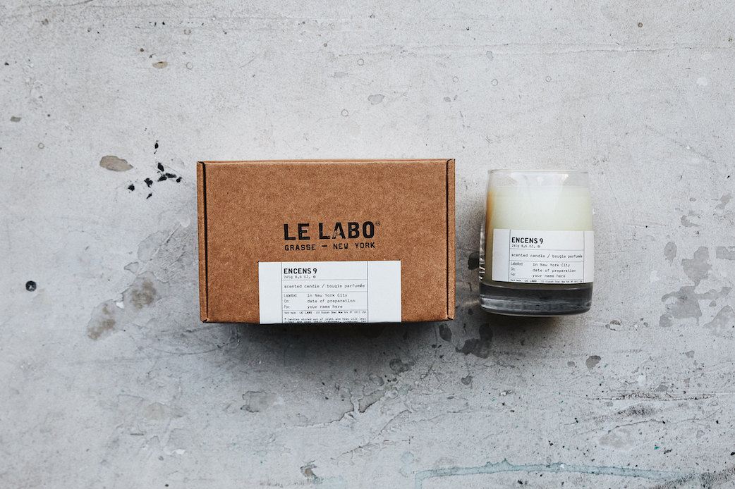 LE LABO、フランキンセンス香る新作キャンドル発売