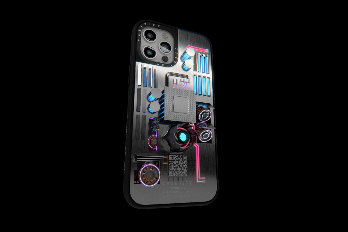 CASETiFY NFTによる世界に一つのiPhoneケース、オークションに出品