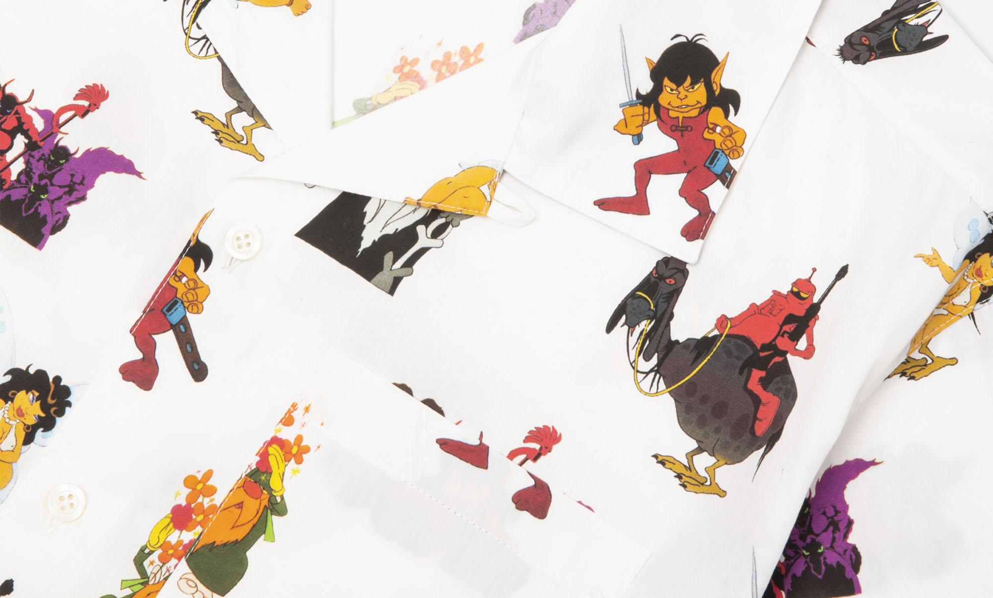 SFアニメWizardsキャラに焦点 Noahからコラボアイテム発売