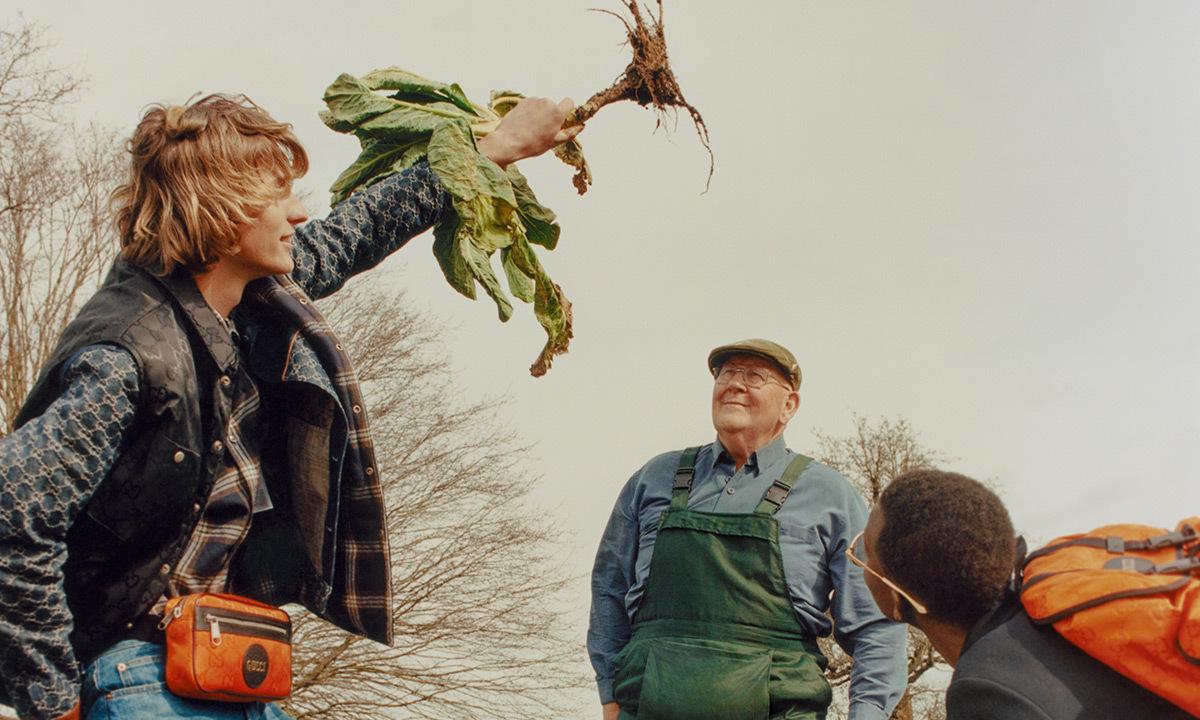 GUCCIと野菜王ジェラルドと探訪する庭いじりの世界