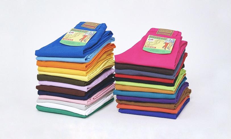 60周年迎えたEDWIN 25色で彩る70年代カラースリムを復刻