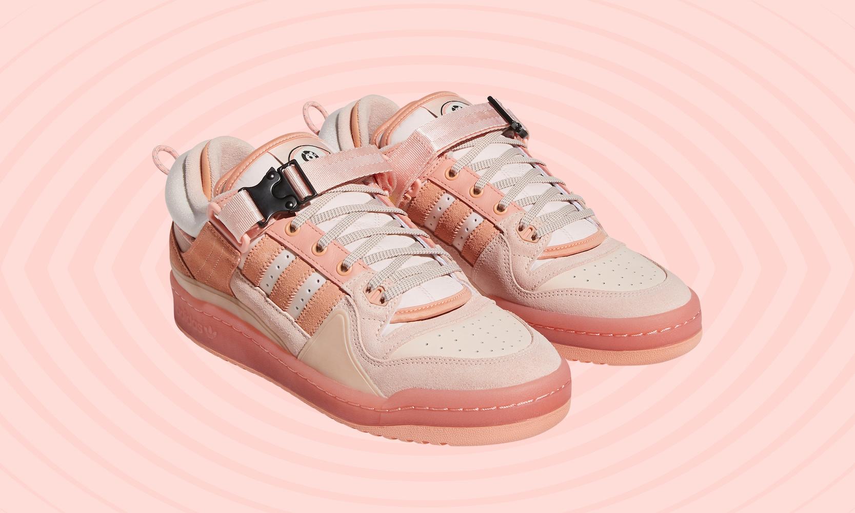 adidas OriginalsとファッションアイコンBAD BUNNYが春色シューズ