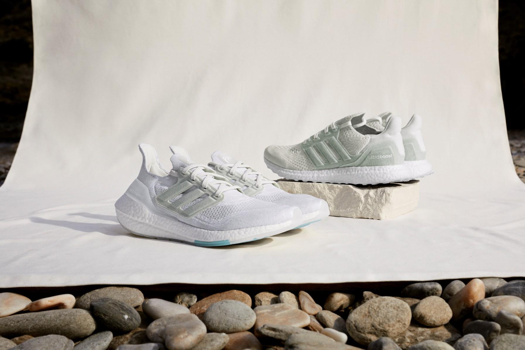 adidas、漁網使った新サステナブルモデル発売