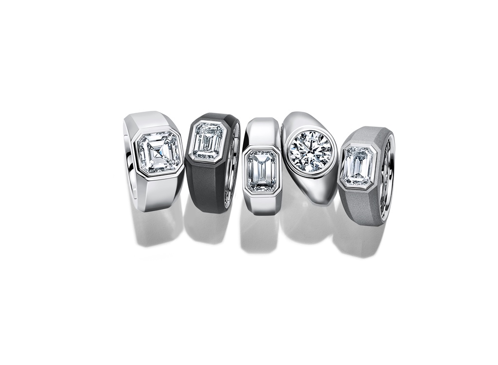 Tiffany & Co.初メンズ用ダイヤモンド エンゲージメント リング発売