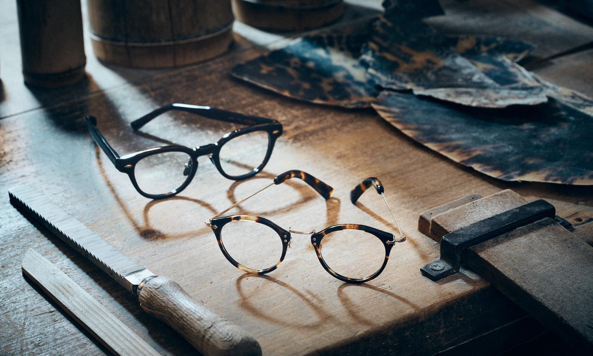 EYEVAN特注のべっ甲眼鏡が登場