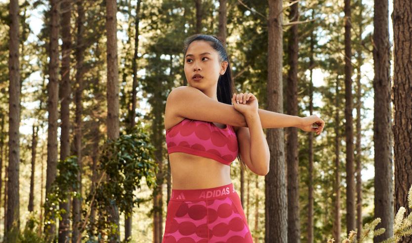 Marimekko の柄がスポーツシーンに adidasとコラボコレクション発売