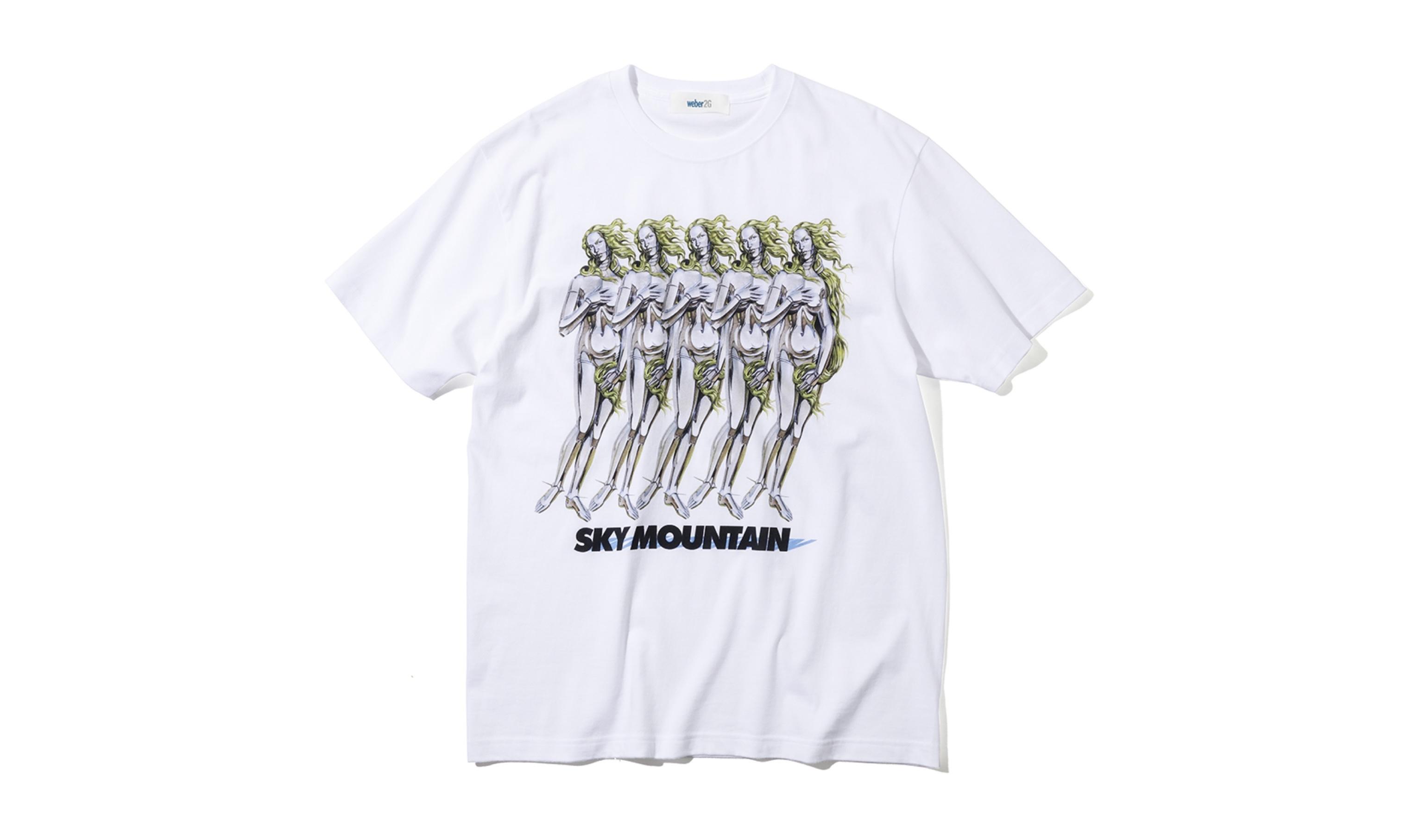 数量限定 空山基×中村哲也×weberのコラボTシャツ発売