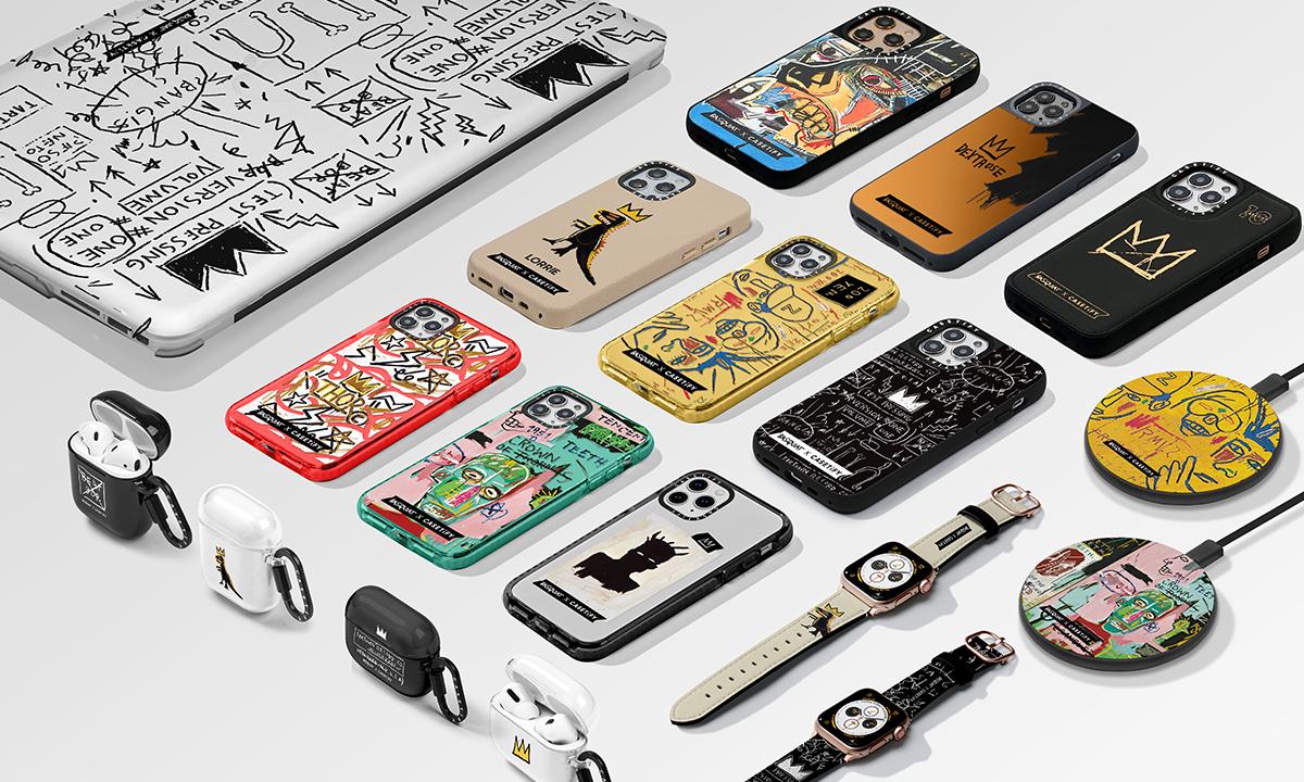 バスキア代表作がiPhoneケースに CASETiFYの新コレクション発売