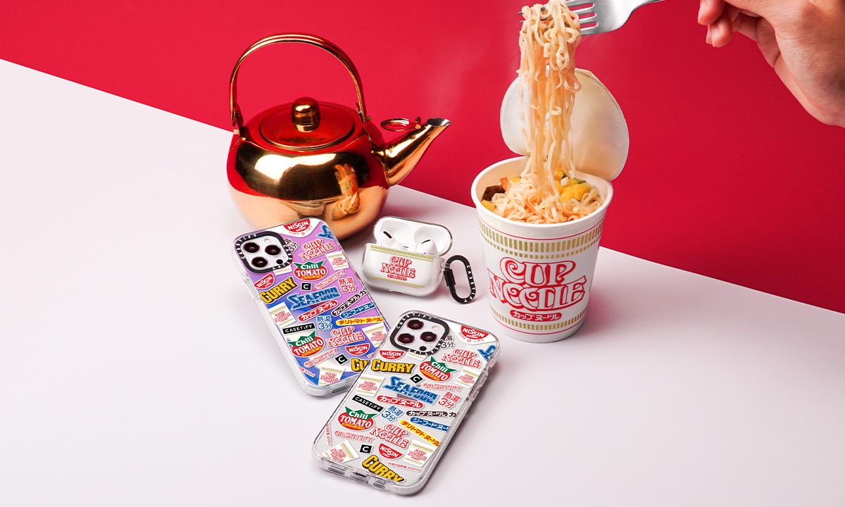 CUP NOODLEがiPhoneケースに CASETiFYコラボコレクション発売