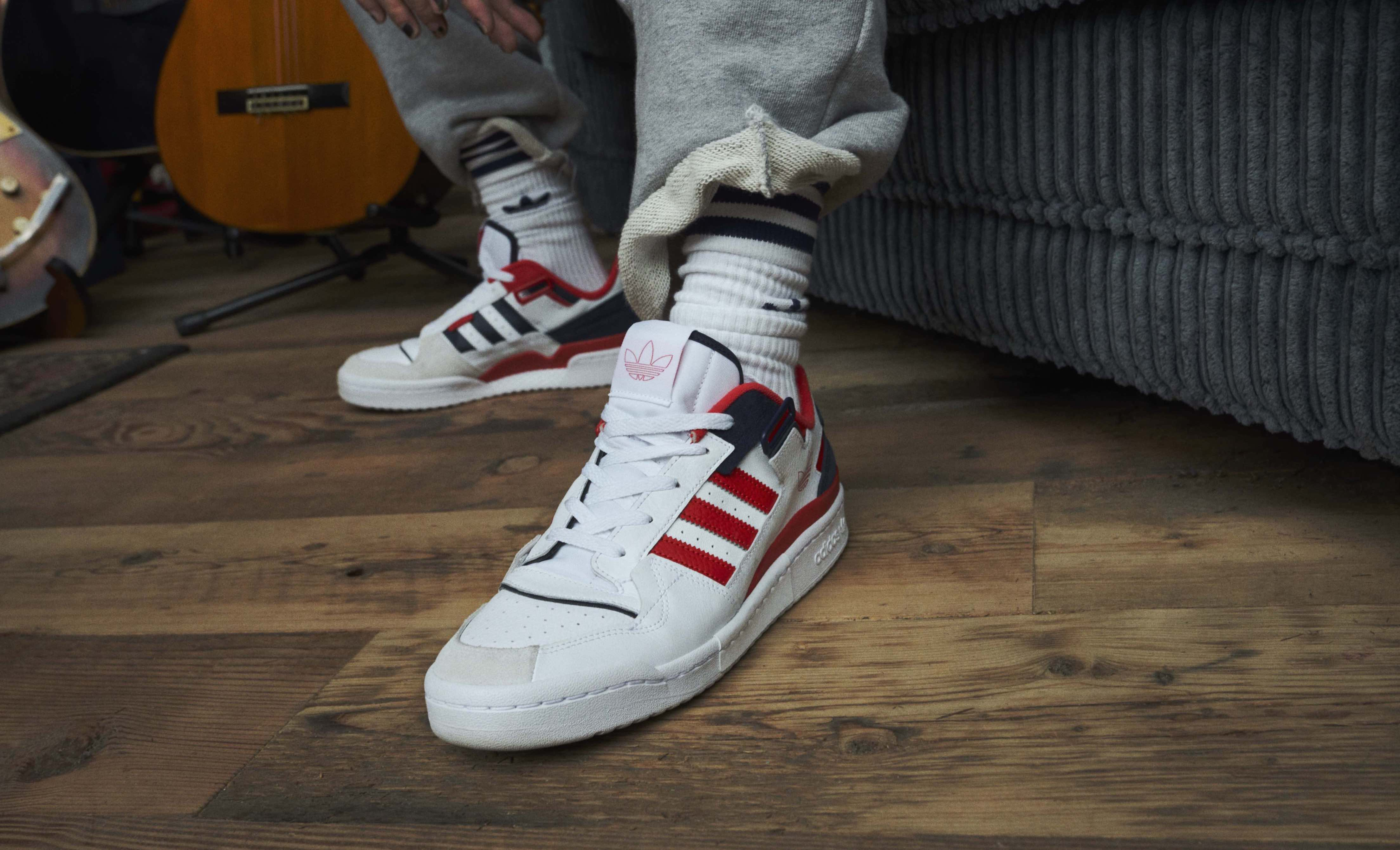 adidas Originals、ストリートアイコンFORUMの新作モデル発売