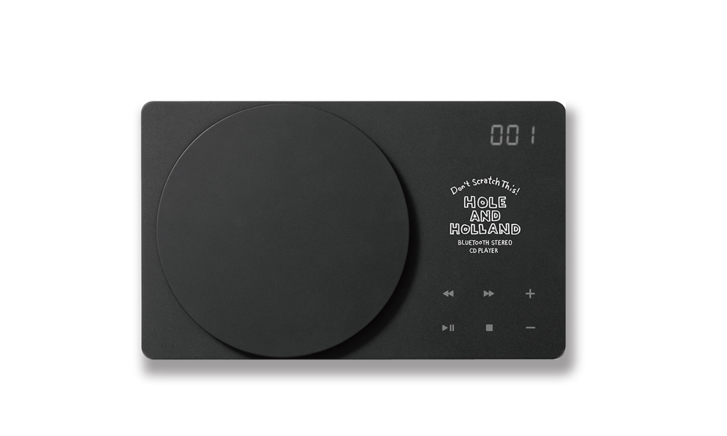 NAIJEL GRAPHデザイン ポータブルCDプレーヤー特別モデル発売