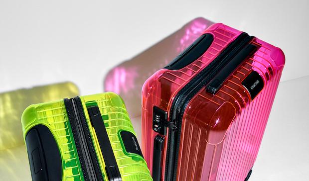 RIMOWAからネオンカラーの半透明モデル発売