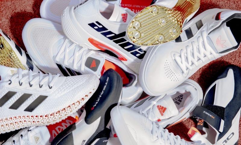 adidas史上最大 17種目85種類のパフォーマンスシューズ発売