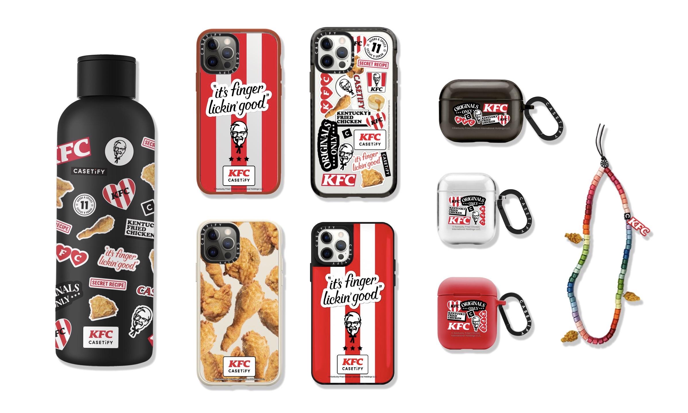 CASETiFYがKFCとのコラボコレクションを発表