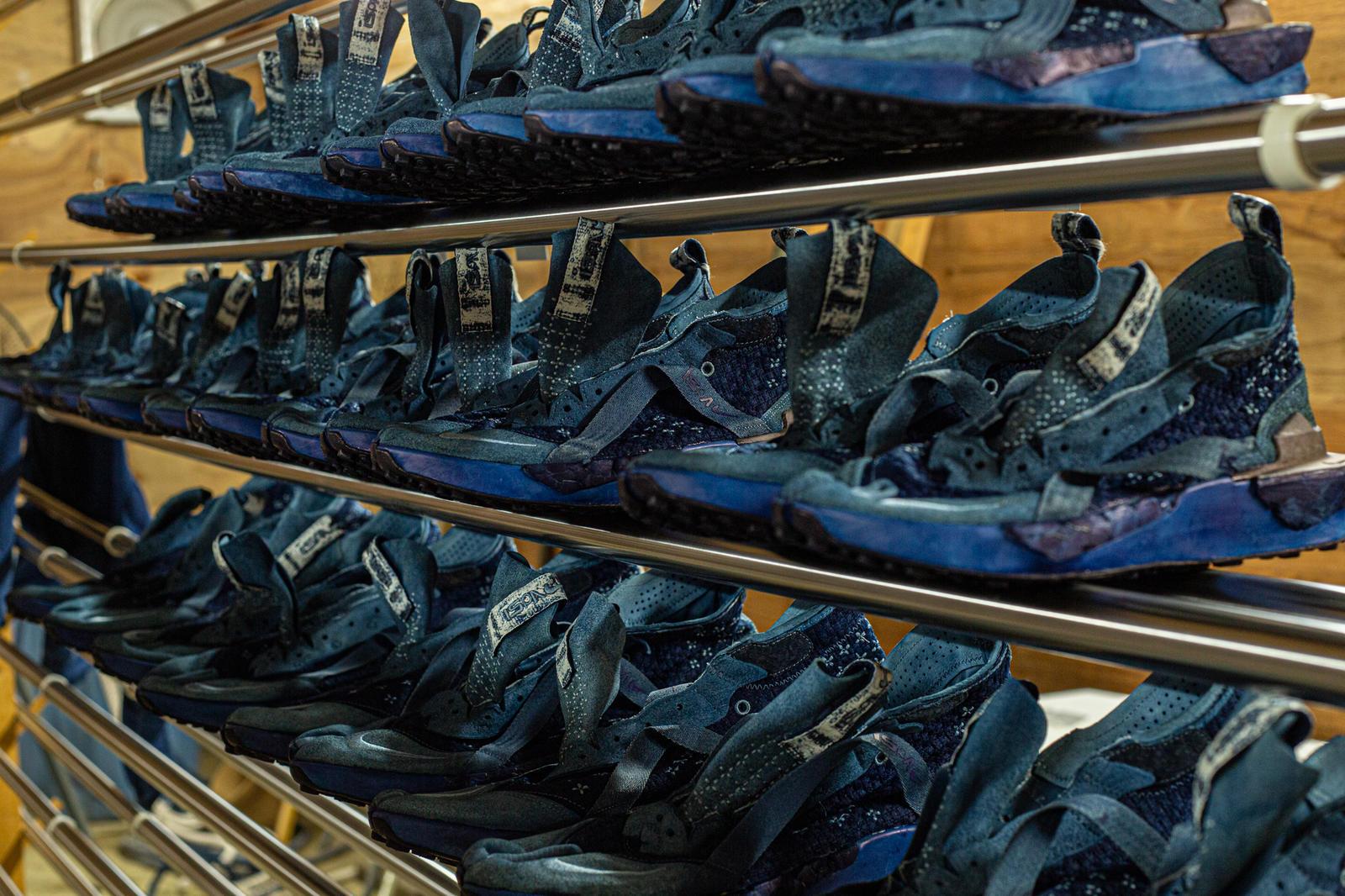 Nike ISPA ドリフターに新シルエット 藍染の日本限定モデルも発売