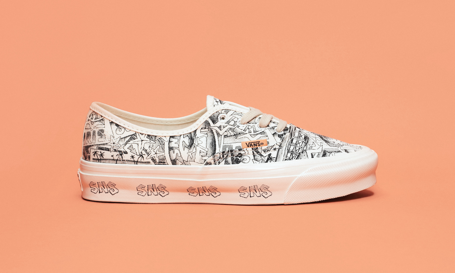 SNS×Vault by Vans 世界7都市を描いたコラボアイテム発売