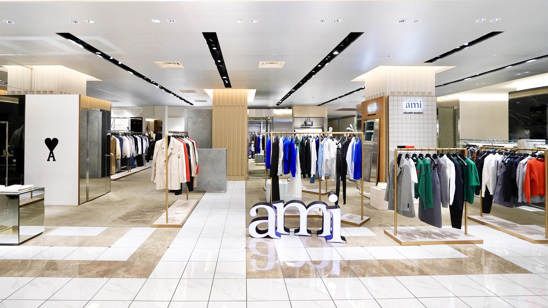 AMI大丸心斎橋店がリニューアル 記念アイテムも発売