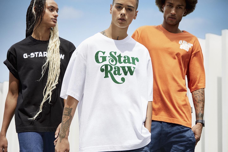 G-Star RAW × スヌープ・ドッグ<br>Tシャツ&スウェットコレクション