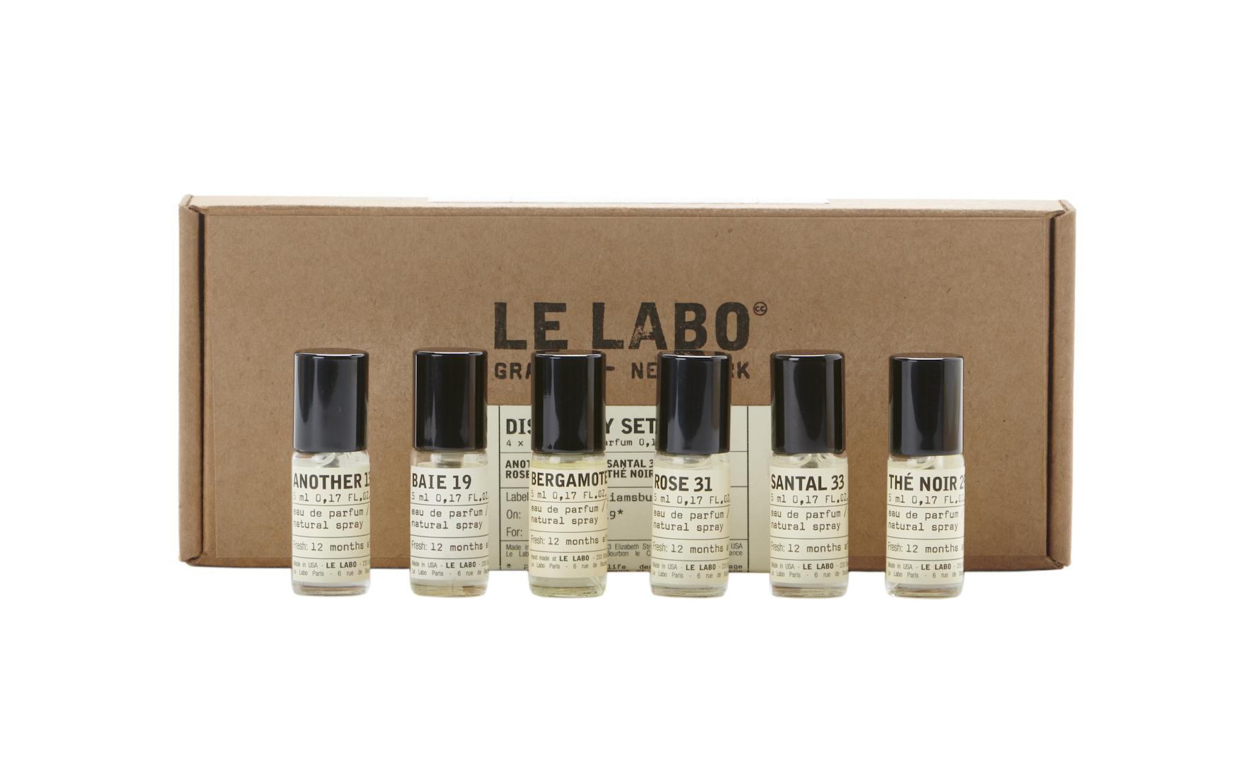 LE LABO、6種のアイコニックな香り ディスカバリーセット発売