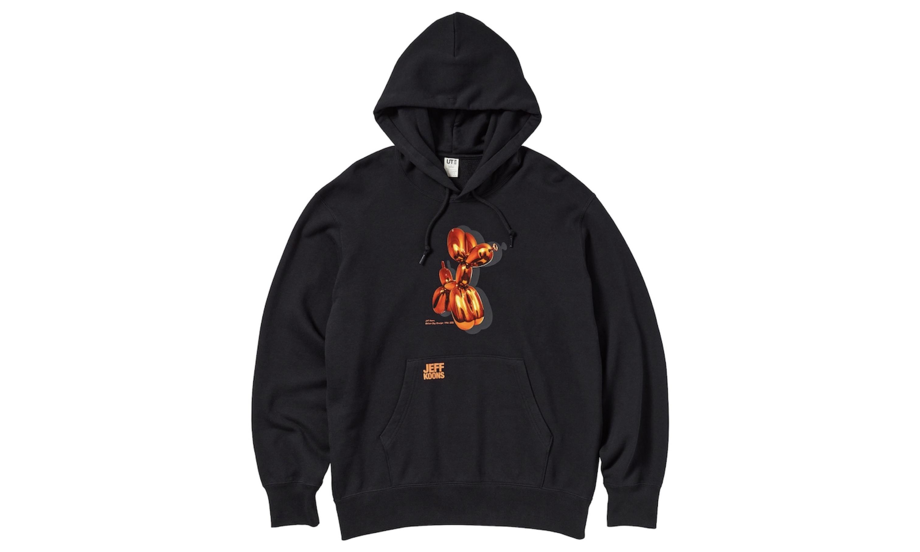 ジェフ・クーンズ代表作がTシャツに 新作UT発売