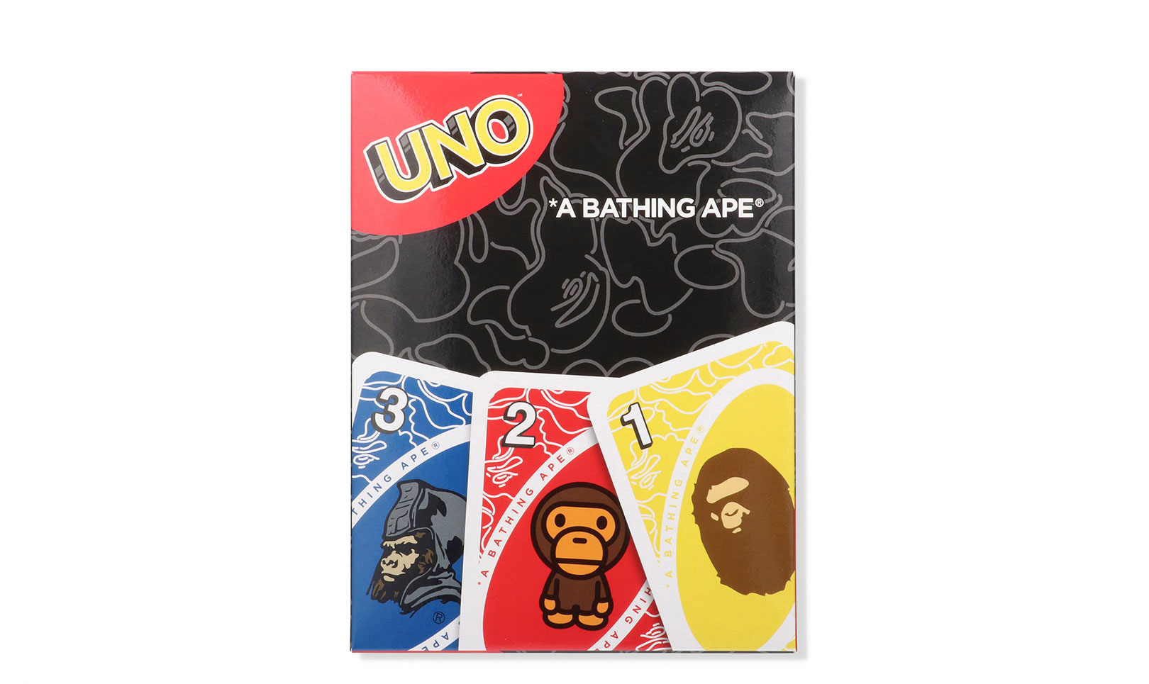 UNO50周年を記念、A BATHING APE®とコラボコレクション発売