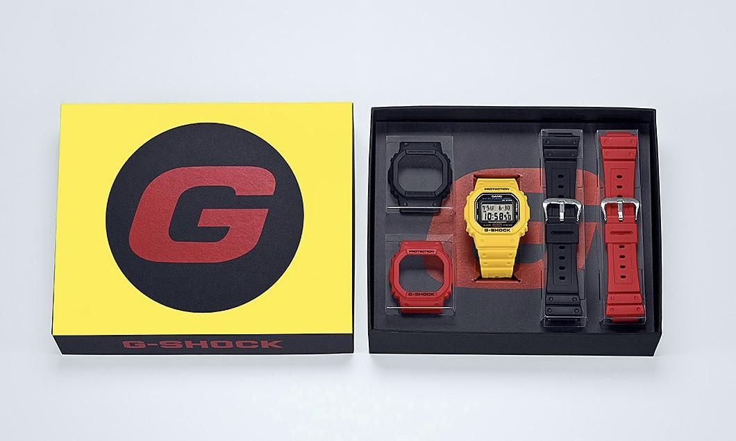 G-SHOCK、初カラーモデルをリバイバル